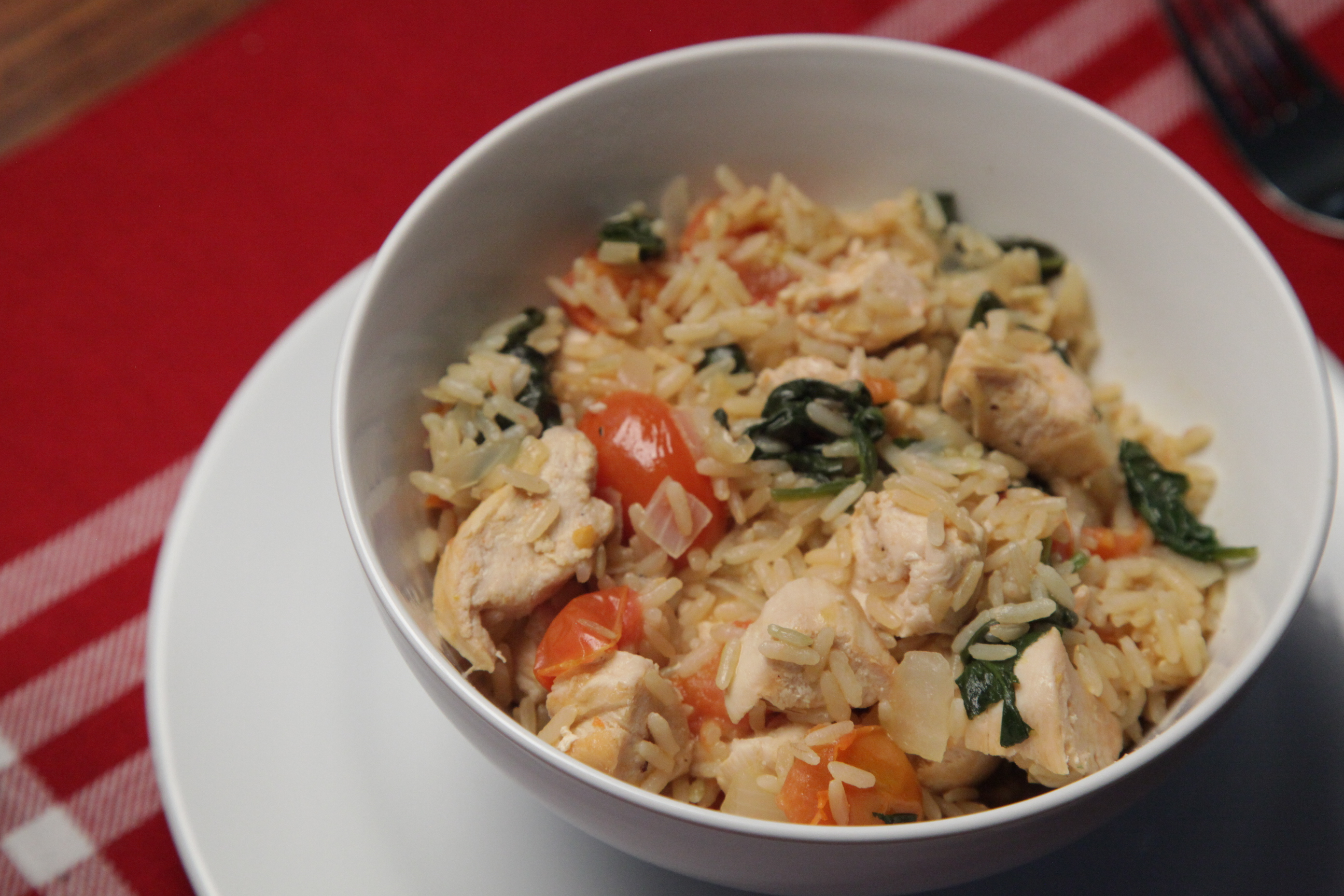 Chicken Veggie Risotto