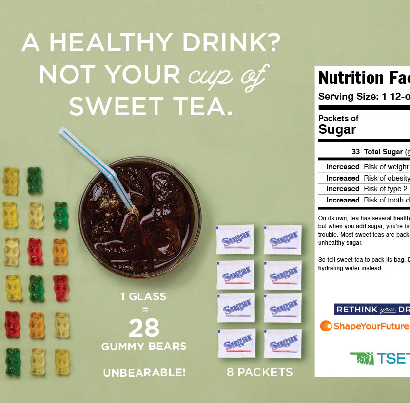 19943 TSET SYF Rethink Your Drink Press Kits_Poster_SweetTea_F