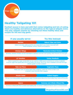 Healthy Tailgating